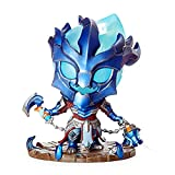 LOL League Legends Thresh The Guardian Chain Decoration Model PVC Decoration Model Gift Office Decoration Home Game Statue