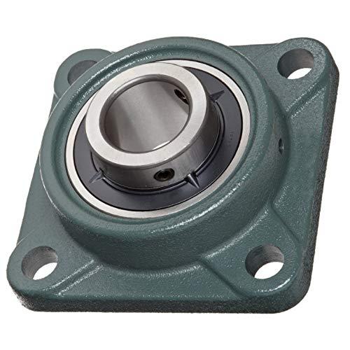 (Pack 2) DOJA Industrial   2 Unidades de Rodamientos con Soporte UCF 212 Cojinete de Bolas para Eje de (60mm Cojinetes con Soportes para: fresadora, Impresora 3D, Bricolaje.