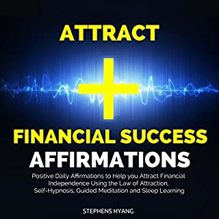Attract Financial Success Affirmations audiobook cover art