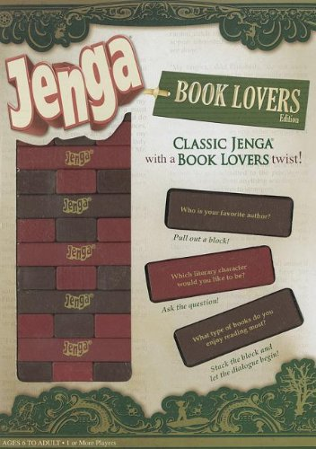 Product Image of the Jenga: Book Lovers Edition: Jenga: Book Lovers Edition