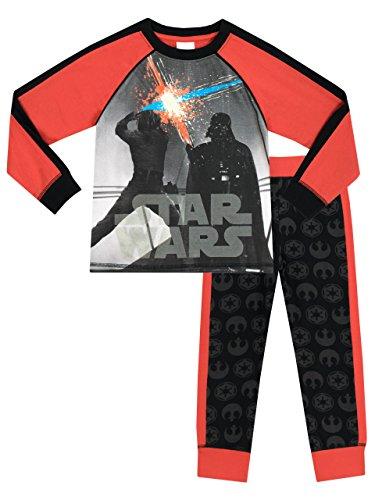 Star Wars - Pijama para Niños Brillan En La Oscuridad - 4-5 Años