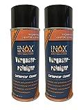 INOX Vergaserreiniger Spray, Reiniger für Vergaser, Leerlaufventile und Drosselklappen - 2 x 400 ml