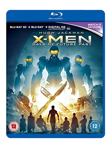 X-Men: Days of Future Past [Blu-Ray]+[Blu-Ray 3D] (IMPORT) (Keine deutsche Version)