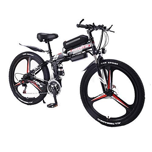 XXZ Bicicleta Eléctrica de Montaña Bicicleta Eléctrica de 26 Pulgadas Plegable con...