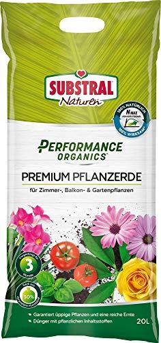 Substral Performance Organics Terreau pour plantes Vert