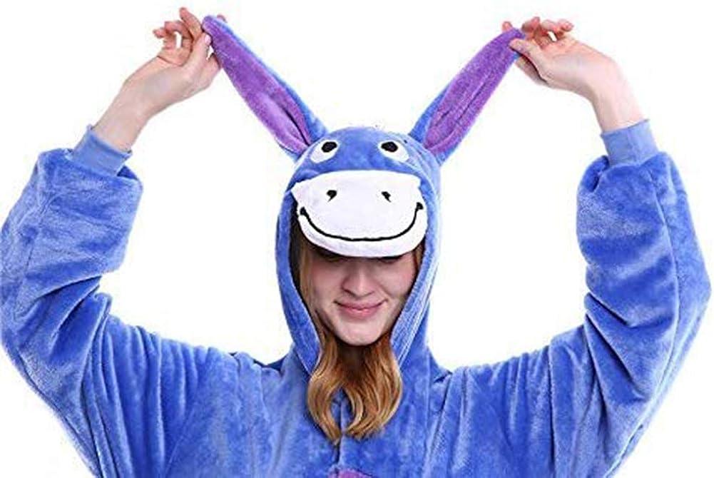 Donkey Animal Cosplay Halloween Xmas Costume Eeyore Oneise Unisex Adult Teens Pajamas