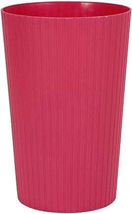 Algo Al-6219 Plastic Trash Bin, Pink