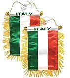 PRK 14 italienische Flaggen für Autos/Zuhause/Italien/Italien
