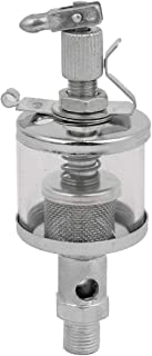 M10 Thread 16ML Air Tool Clear Reservoirs Toggle Pin Metal Needle Valve Oil Cup