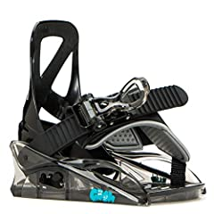 Single-Component Polycarbonate Baseplate Ultra-Lightweight Single-Component Highback Onestrap with Ergo Shaped Easy Entry Ratchet Tongue Smack-It Ratchet Smooth Glide - Oversized and Kid-Friendly