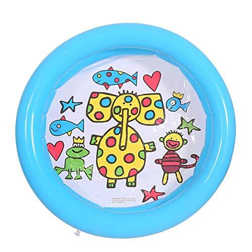 winnerruby Piscina hinchable para niños, 25,59 x 25,59 pulgadas, juguete de agua de verano para bebés, niños, niños pequeños