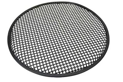 "Black Metal Mesh Speaker Grill |Metal iron wire grilles |Size 18"" 15"" 12"" 10"" 6"" (12 Inch) from Septal"