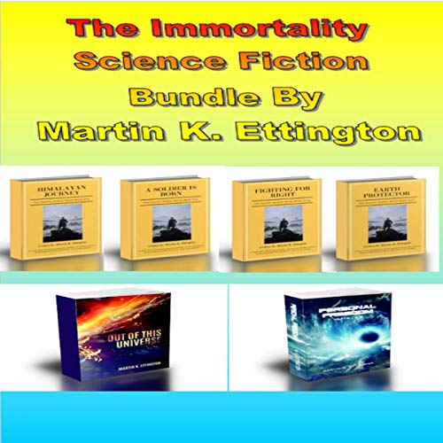 The Immortality Science Fiction Bundle audiobook cover art