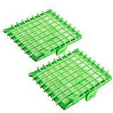 Lot de 2 Filtres HEPA Remplacement pour Rowenta ZR 002901 Silence Force