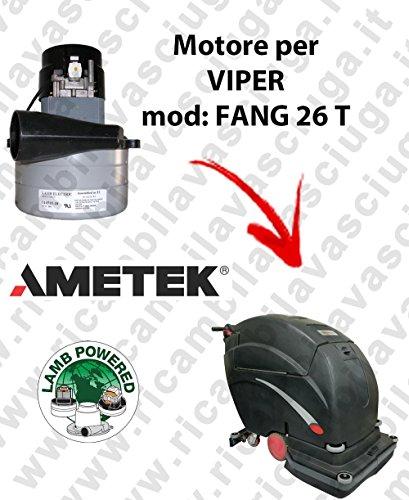 Motor Lamb ametek de aspiración para mopa Viper Fang 26T