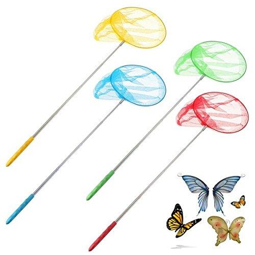 Bazaar Außen Erweiterbar Schmetterlingsnetz Insekt Wanzen Kescher Werkzeuge Garten Kinder Kinderspielzeug