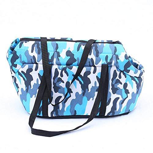 ZZQ Heuptas voor honden met camouflage, opvouwbaar, draagbaar, voor huisdieren