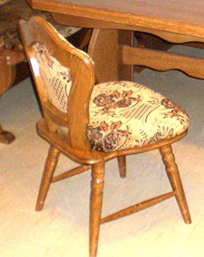 2 Stühle - Stühle sind in Buche auf Eiche rustikal P43 gebeizt - 2 Esszimmerstühle - 2 Küchenstühle - 2 Kneipenstühle - Stühle werden aufgebaut geliefert
