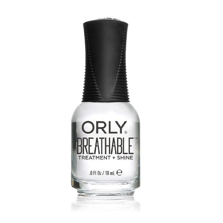 確認する地下ピグマリオンOrly Breathable Treatment + Color Nail Lacquer - Treatment + Shine - 0.6oz/18ml