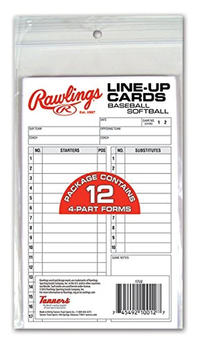 ネックレット嫉妬肥満Rawlings system-17?line-upカード( 12カード)