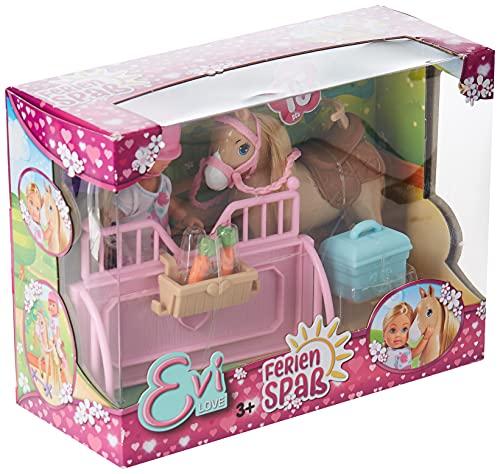 Simba 105733274EVI Love Holiday Horse parte muñeca , color/modelo surtido