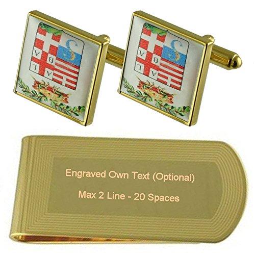 Escudo de Armas personalizado tono Oro...