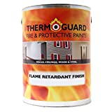 Thermoguard Flame Retardant Topcoat | Fire Resistant Topcoat for Thermoguard Thermocoat (2.5 Litre, Gloss White)