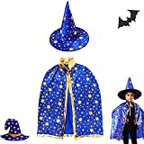 Dream HorseX Cape du Magicien d'Halloween, Cape du magicien, Chapeau de Magicien avec...