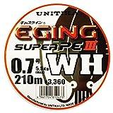 ユニチカ(UNITIKA) ライン キャスライン エギングスーパーPEⅢ WH 210m 0.8号