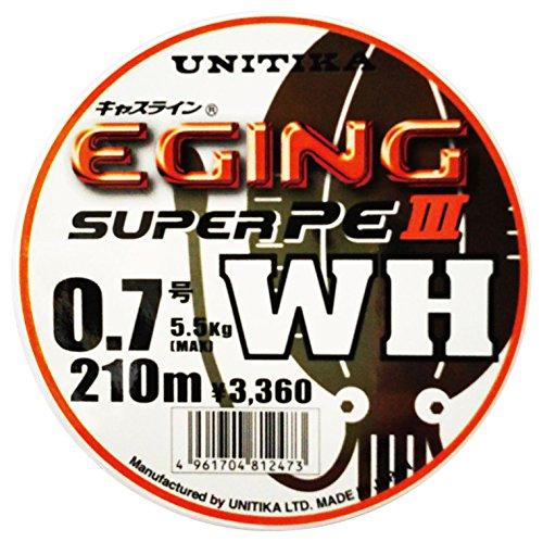 ユニチカ(UNITIKA) ライン キャスライン エギングスーパーPEIII WH 210m 0.7号 4961704812473