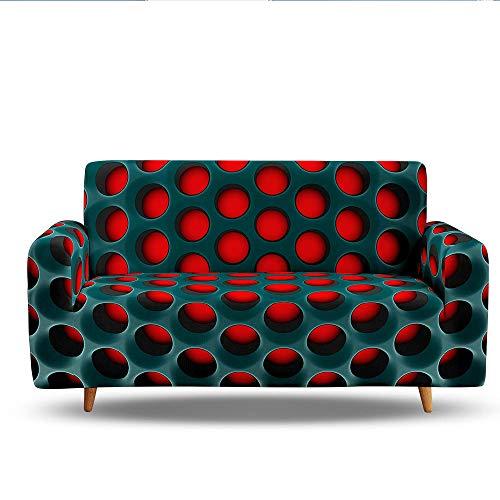 HXTSWGS Fundas para Sofa de 1,2,3 Plazas,Funda de sofá, Fundas para sofá, Fundas de sofá Cama 3D, Fundas de sofá elásticas elásticas, Funda de sofá-Color1_3-plazas 190-230cm