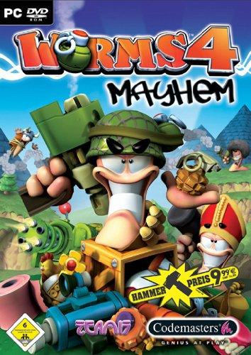 Worms 4 Mayhem (DVD-ROM) [Hammerpreis]