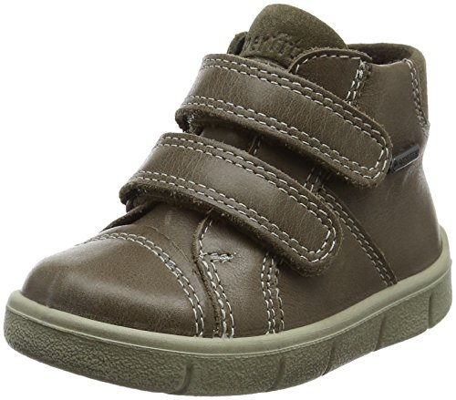 Superfit Baby-Jungen Ulli Sneaker, Grün Olivgrün, 22 EU