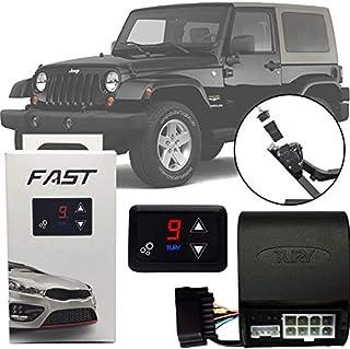 Módulo de Aceleração Sprint Booster Tury Plug and Play Jeep Wrangler 2007 08 09 10 11 12 13 14 15 16 17 FAST 1.0 F