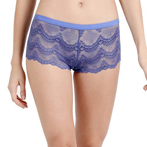Enamor Women's Other Panty (P092_Deep Periwinkle_Medium)