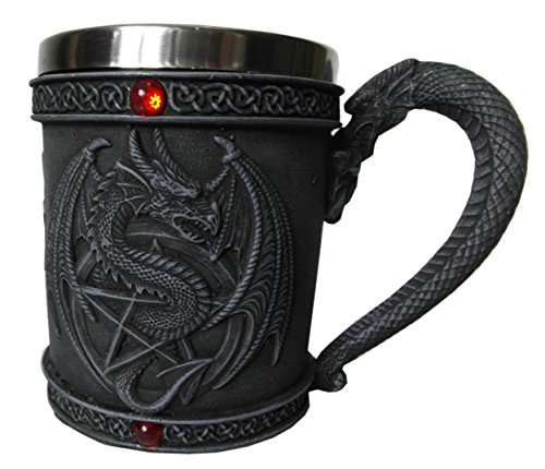 Medieval Jarra de cerveza Dragón de Einkaufszauber