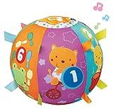 VTech- Bola cantarina Pelota Interactiva de Tela con Más de 50 Canciones, Multicolor, 24.9 x 14.0 x 8.9 (3480-166122) , color/modelo surtido