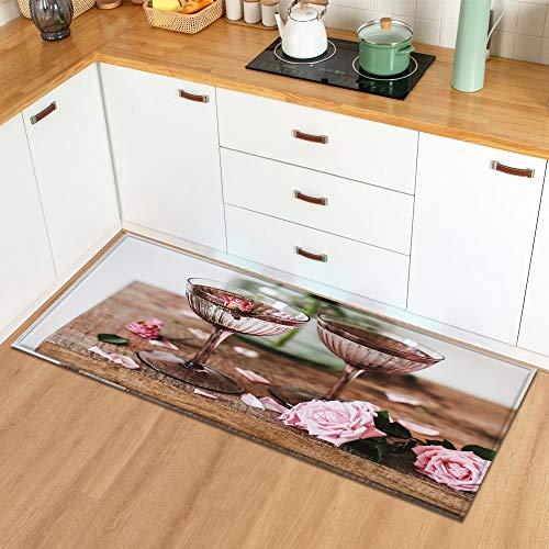 Keuken Tapijt Home Entree Deurmat Slaapkamer Valentijnsdag Decoratie Vloerkleed Hal Balkon Badkamer Antislip Mat A4 40x120cm