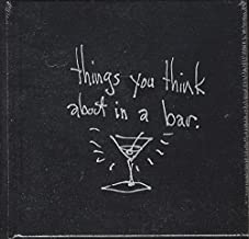 THE NAPKIN ART OF TIM BURTON : things you think about in a bar.