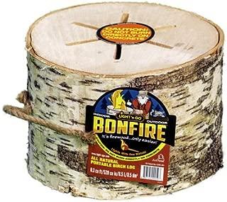 bonfire log
