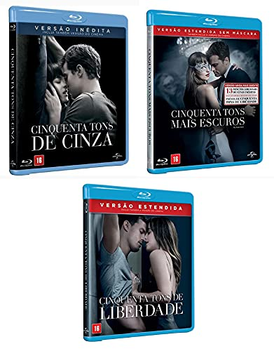 Coleção Cinquenta Tons de Cinza Blu-ray (Títulos Individuais)