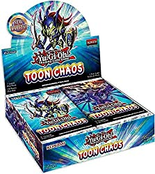 commercial Yugioh TCG Toon Chaos Booster Box – 24 packs of 7 yugioh booster boxes