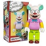 YYQIANG Figura de acción Modelo Bearbrick Los Simpsons Cos Muñeca del Payaso (Color : A)