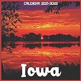 Iowa Calendar 2021-2022: April 2021 Through December 2022 Square Photo Book Monthly Planner Iowa small calendar