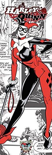 DC Comics - Harley Quinn - Comic Tür Poster Plakat Druck - Grösse 53x158 cm