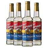 Torani Syrup, Cane Sugar Sweetener, 25.4 Ounces (Pack of 4)