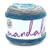 Lion Brand Yarn Company 526-204 Mandala Baby Yarn, Wishing Well, una madeja