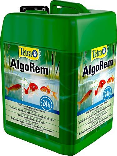 Tetra Pond AlgoRem 3 L - Combate las algas flotantes (agua verde) en 24 horas