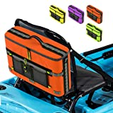 Skywin Kayak Cooler - Waterproof Cooler for Kayaking Compatible with Lawn-Chair Style Seats, Kayaking Accessories Stores Drinks and Keeps Them Cool All Day (Orange)