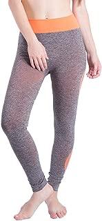 Women Yoga Athletic Trouser High Waist Gym Patchwork Sports Running Fitness Leggings Pants